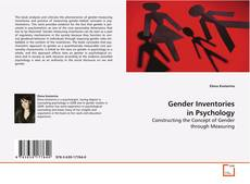 Bookcover of Gender Inventories in Psychology