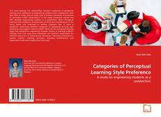 Bookcover of Categories of Perceptual Learning Style Preference