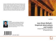 Copertina di Loss Given Default - Empirical observations and models