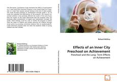 Обложка Effects of an Inner City Preschool on Achievement