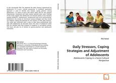 Daily Stressors, Coping Strategies and Adjustment of Adolescents kitap kapağı