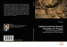 Leibherrschaft des Klosters Einsiedeln im Thurgau kitap kapağı
