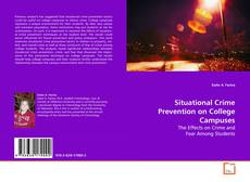 Bookcover of Situational Crime Prevention on College Campuses
