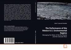 Capa do livro de The Performance of the Mexico-U.S. Environmental Regime