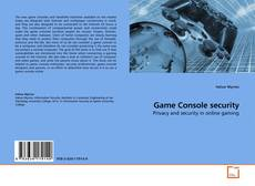 Bookcover of Game Console security