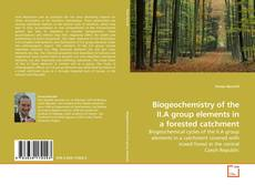Portada del libro de Biogeochemistry of the II.A group elements in a forested catchment