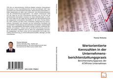 Capa do livro de Wertorientierte Kennzahlen in der Unternehmensberichterstattungspraxis