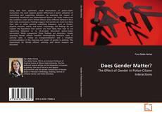 Bookcover of Does Gender Matter?
