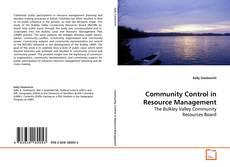 Community Control in Resource Management的封面