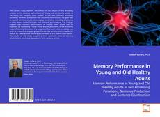 Capa do livro de Memory Performance in Young and Old Healthy Adults