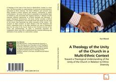 Couverture de A Theology of the Unity of the Church in a Multi-Ethnic Context