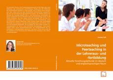 Buchcover von Microteaching und Peerteaching in der Lehreraus-  und -fortbildung