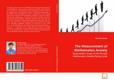 Обложка The Measurement of Mathematics Anxiety