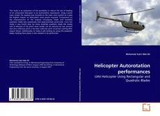 Bookcover of Helicopter Autorotation performances