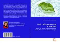 Borítókép a  Maji - Wassernutzung in Tansania - hoz