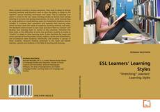 Copertina di ESL Learners' Learning Styles