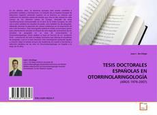 Portada del libro de TESIS DOCTORALES ESPAÑOLAS EN OTORRINOLARINGOLOGÍA