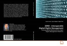 Bookcover of iDRM - interoperable Digital Rights Management