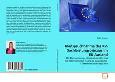 Bookcover of Inanspruchnahme des KV-Sachleistungsprinzips im EU-Ausland