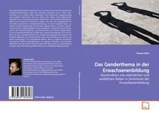 Buchcover von Das Genderthema in der Erwachsenenbildung
