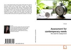 Buchcover von Assessment for contemporary needs