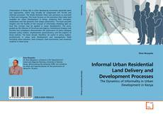 Capa do livro de Informal Urban Residential Land Delivery and Development Processes