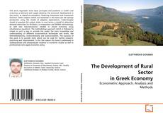 Bookcover of The Development of Rural Sector in Greek Economy