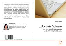Copertina di Students' Persistence