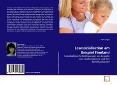 Bookcover of Lesesozialisation am Beispiel Finnland