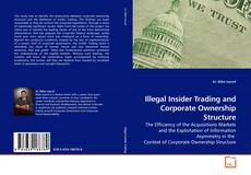 Portada del libro de Illegal Insider Trading and Corporate Ownership Structure