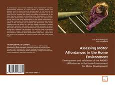 Bookcover of Assessing Motor Affordances in the Home Environment