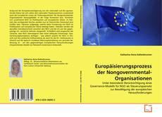 Couverture de Europäisierungsprozess der Nongovernmental-Organisationen