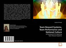 Обложка Team Reward Systems, Team Performance and National Culture