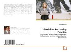 Bookcover of IS Model for Purchasing Function