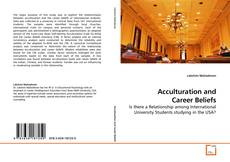 Couverture de Acculturation and Career Beliefs