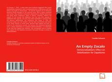 Buchcover von An Empty Zocalo