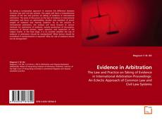 Bookcover of Evidence in Arbitration