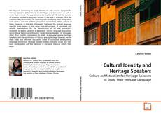 Bookcover of Cultural Identity and Heritage Speakers