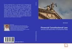 Capa do livro de Financial Constitutional Law