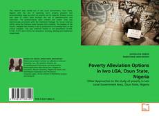 Bookcover of Poverty Alleviation Options in Iwo LGA, Osun State, Nigeria
