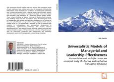 Borítókép a  Universalistic Models of Managerial and Leadership Effectiveness - hoz