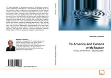 Bookcover of To America and Canada with Reason