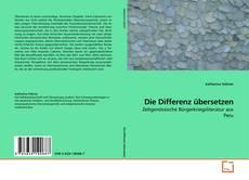 Buchcover von Die Differenz übersetzen