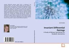 Capa do livro de Invariant Differential Pairings
