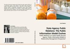 Buchcover von State Agency Public Relations: The Public Information Model Evolves