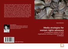 Bookcover of Media strategies for women rights advocacy