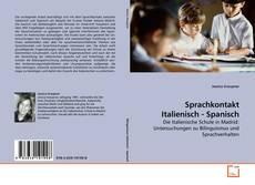 Buchcover von Sprachkontakt Italienisch - Spanisch