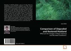 Buchcover von Comparison of Degraded and Restored Peatland