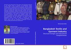 Bangladesh Textile and Garment Industry kitap kapağı