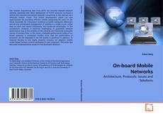 Portada del libro de On-board Mobile Networks